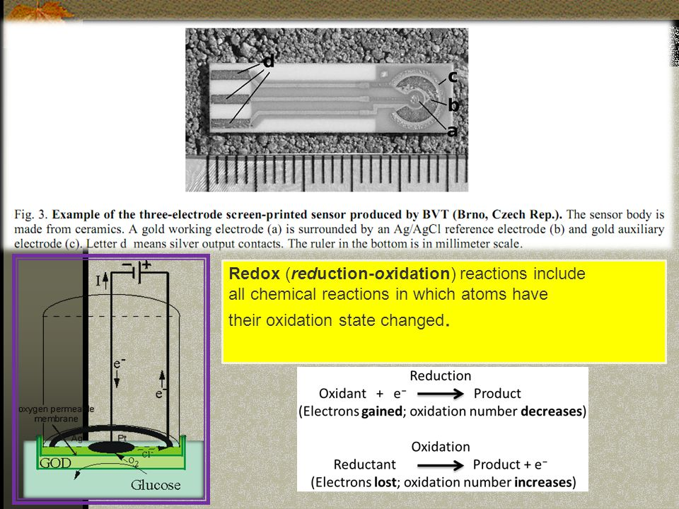 Redox (reduction-oxidation) reactions include all chemical reactions in which atoms have their oxidation state changed.