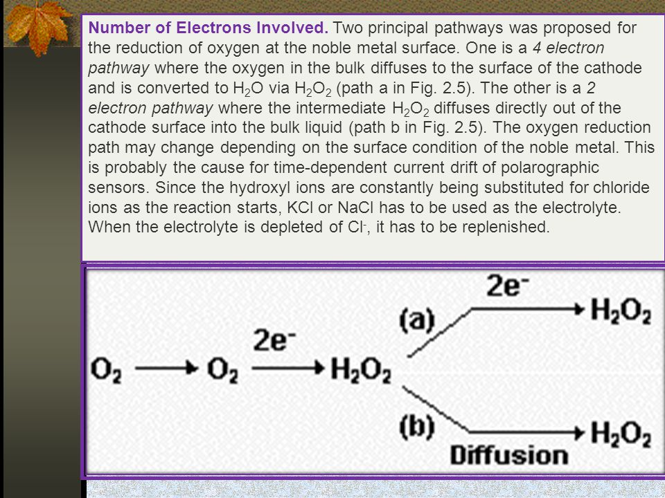 Number of Electrons Involved