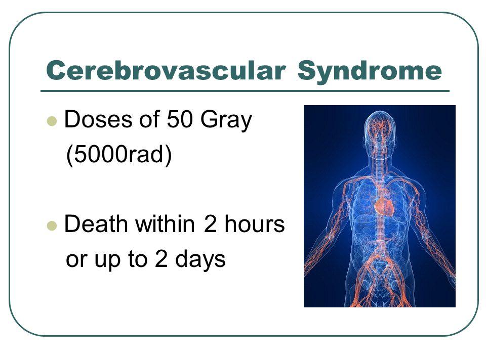 Cerebrovascular Syndrome