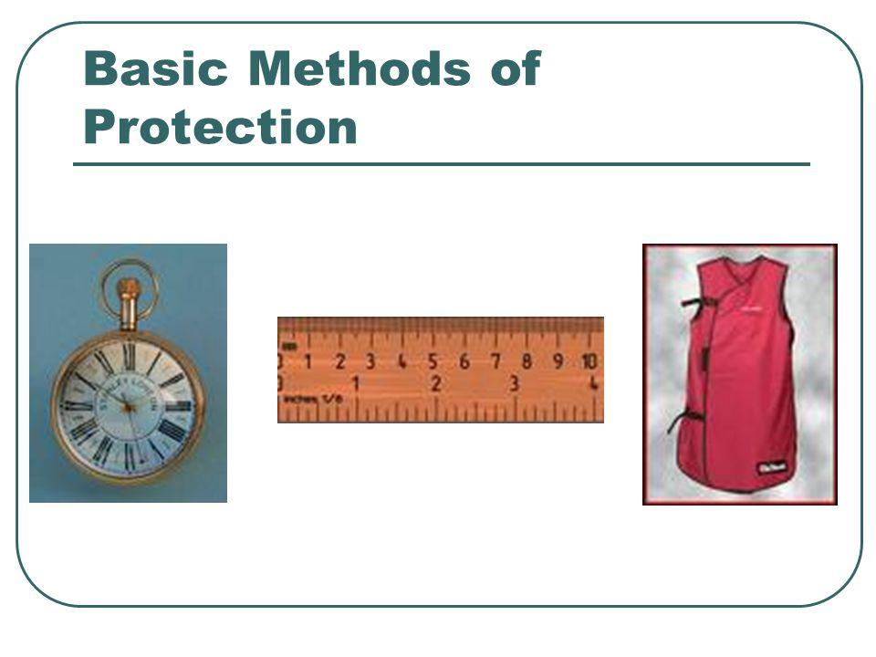 Basic Methods of Protection