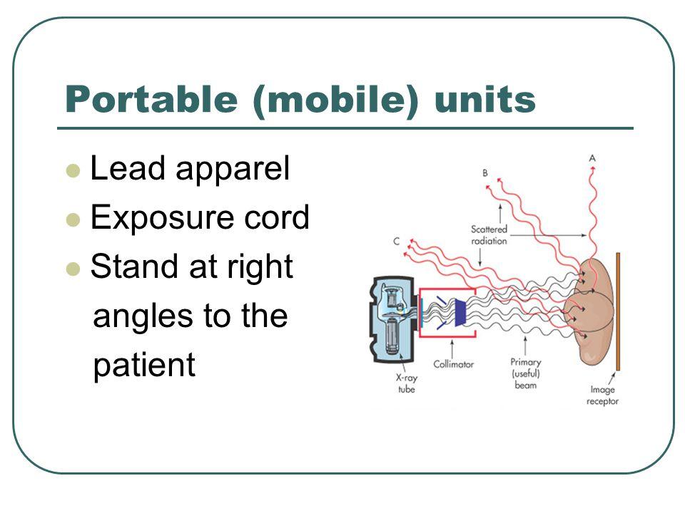 Portable (mobile) units