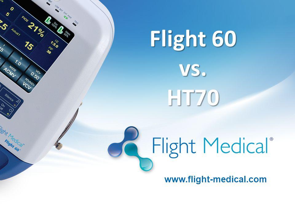 Flight 60 vs. HT70 www.flight-medical.com 1