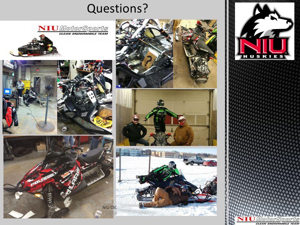 Questions NIU CSC 2/27/2014
