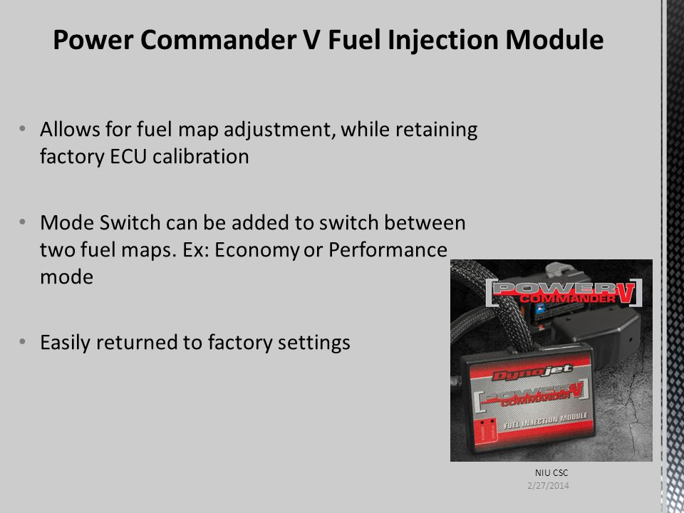 Power Commander V Fuel Injection Module