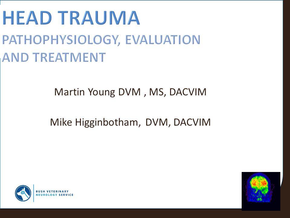 Head Trauma pathophysiology, evaluation and Treatment