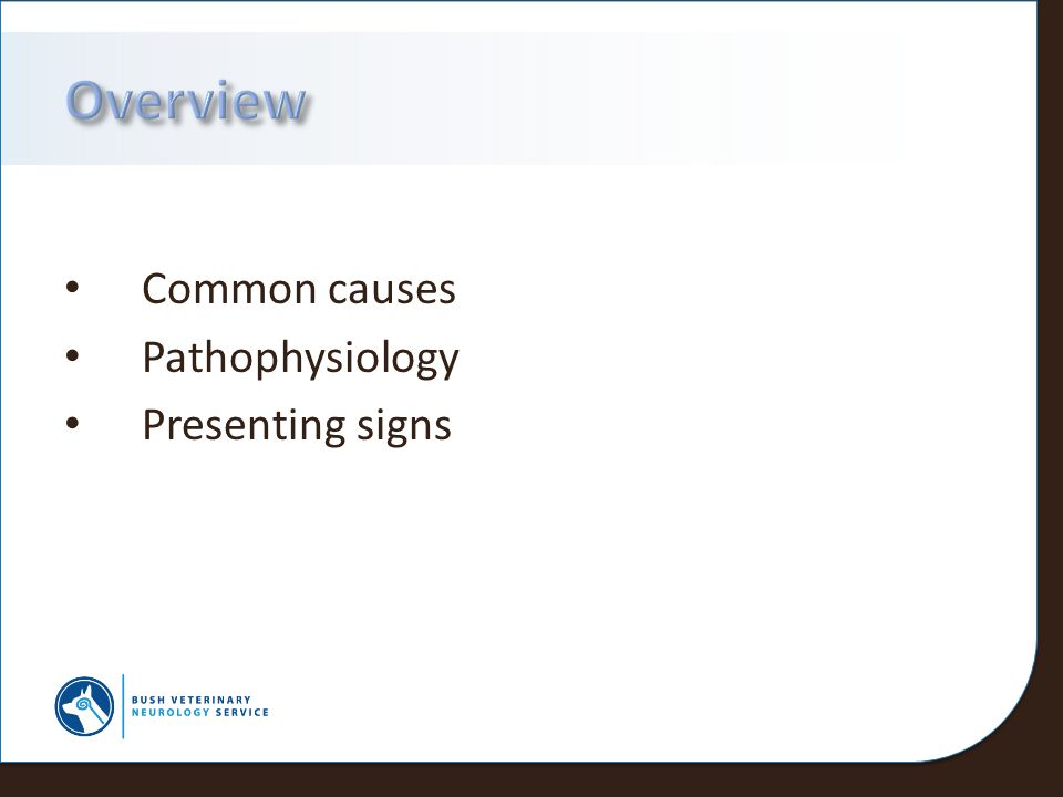 Overview Common causes Pathophysiology Presenting signs