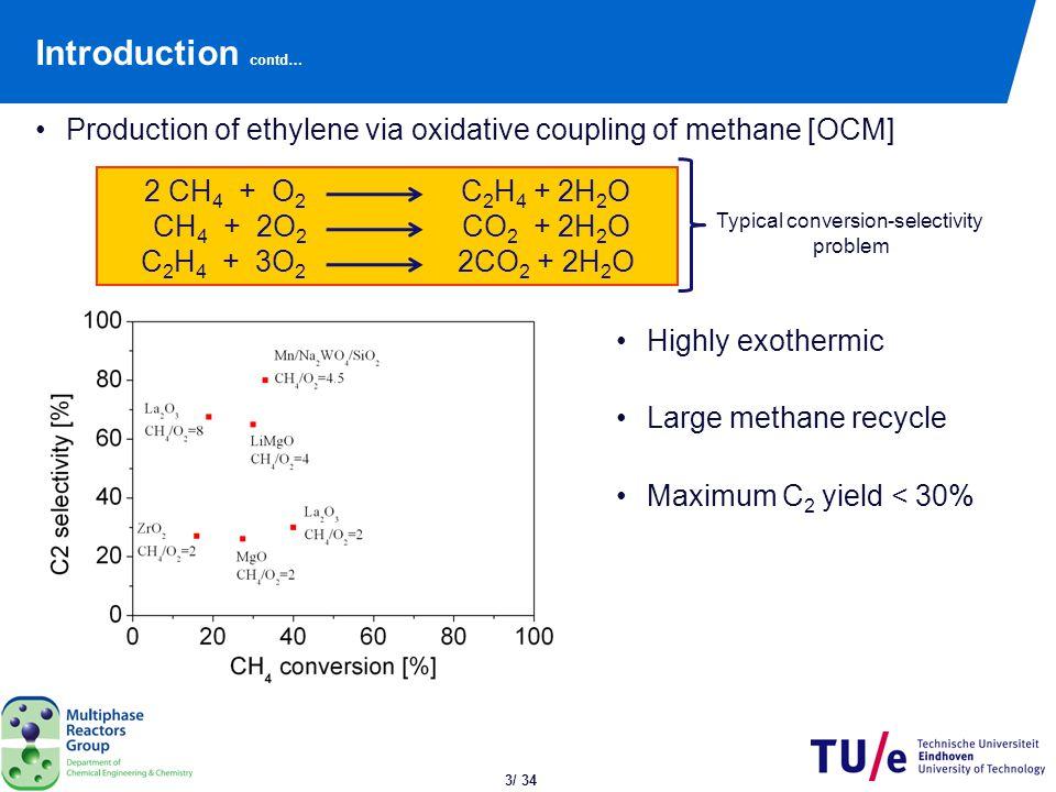 Kinetics of OCM Reaction scheme