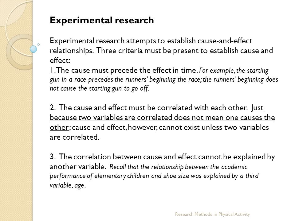 example of experimental research in the philippines Ethical issues in human research generally human experimentation: an introduction to the were an example of dogmatic adherence to a research.