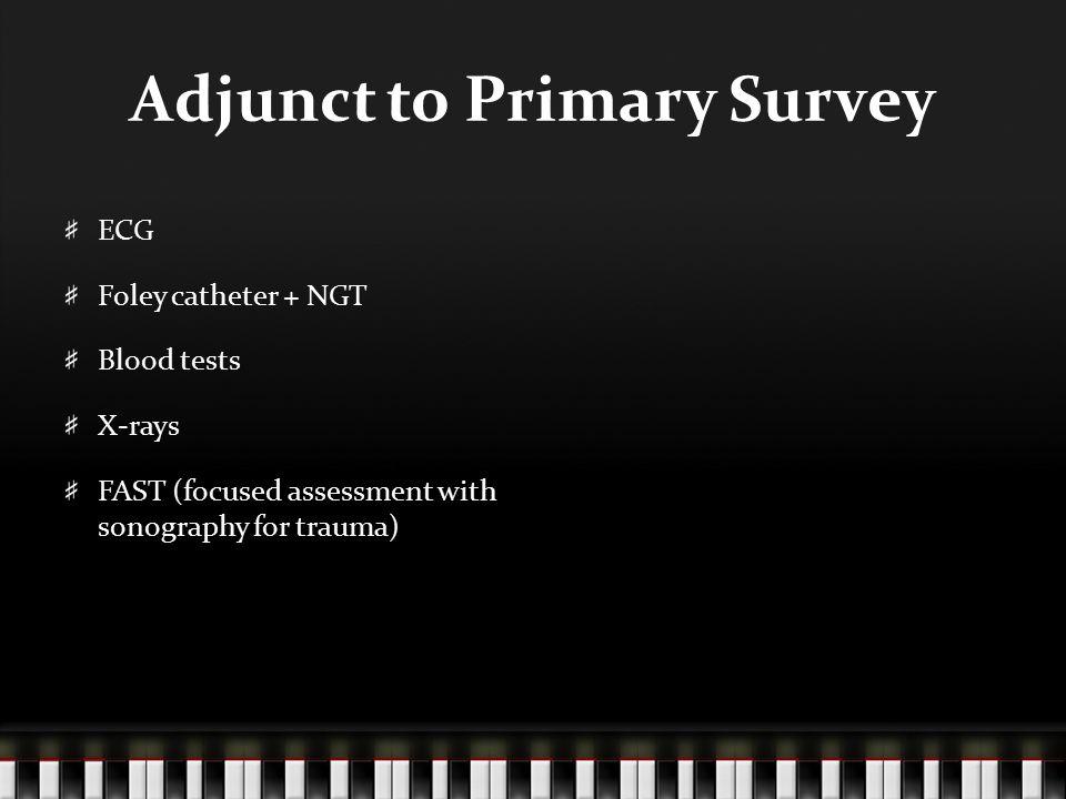 Adjunct to Primary Survey