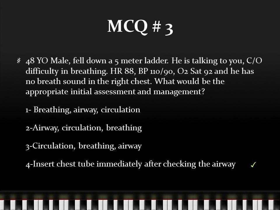 MCQ # 3