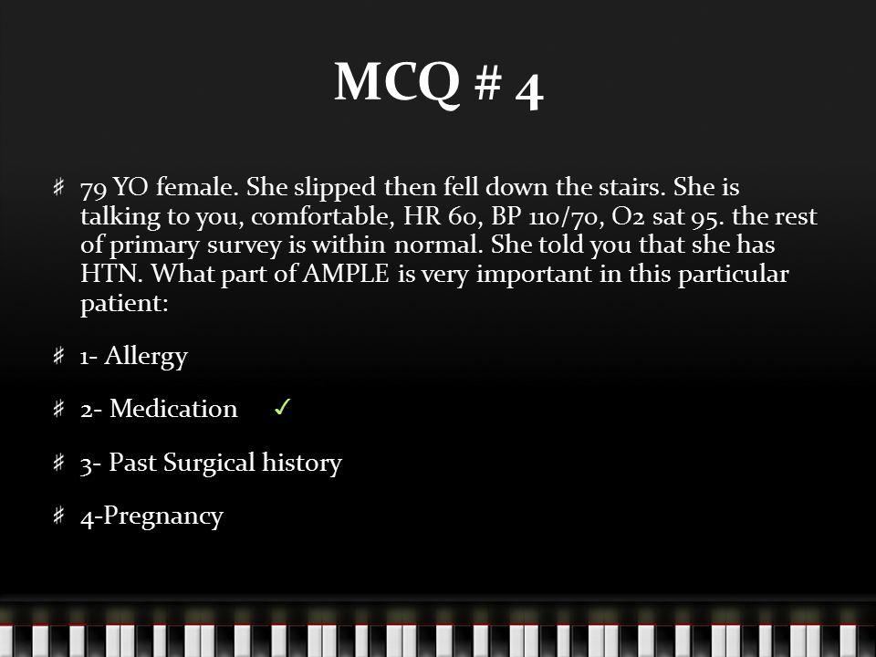 MCQ # 4