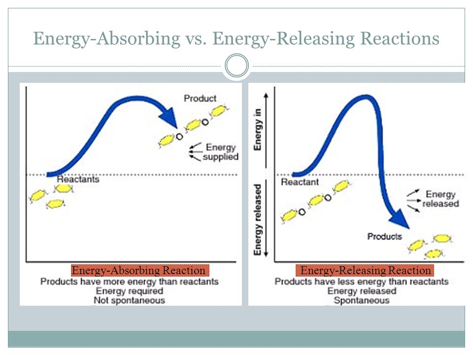 Energy-Absorbing vs. Energy-Releasing Reactions