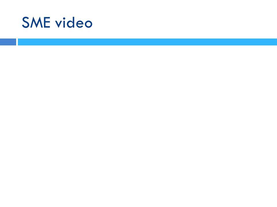 SME video