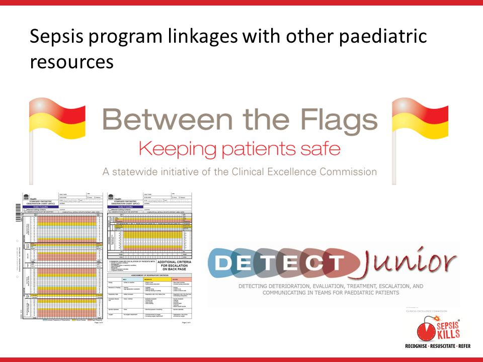Sepsis program linkages with other paediatric resources