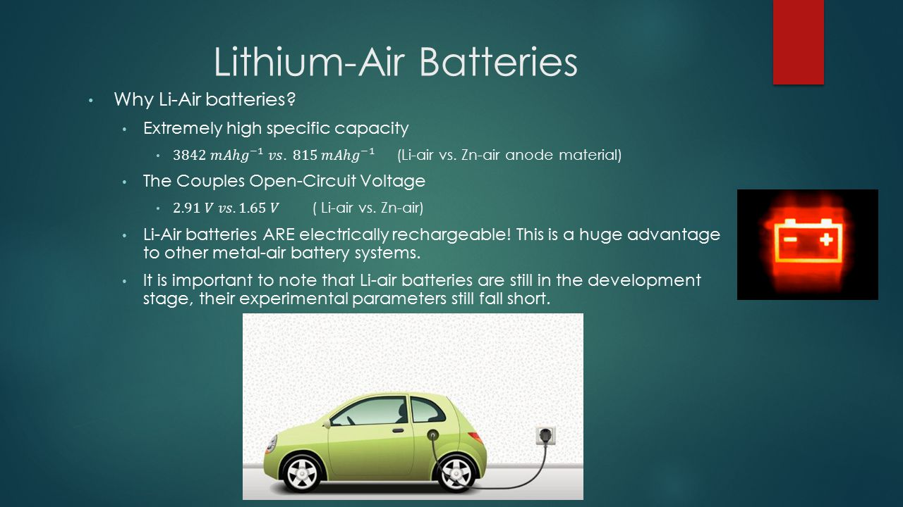 Lithium-Air Batteries