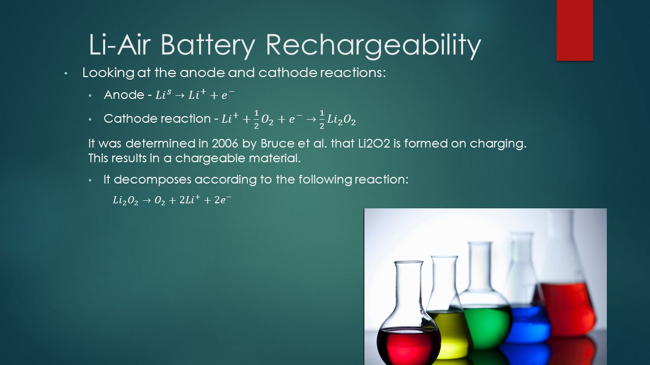 Li-Air Battery Rechargeability