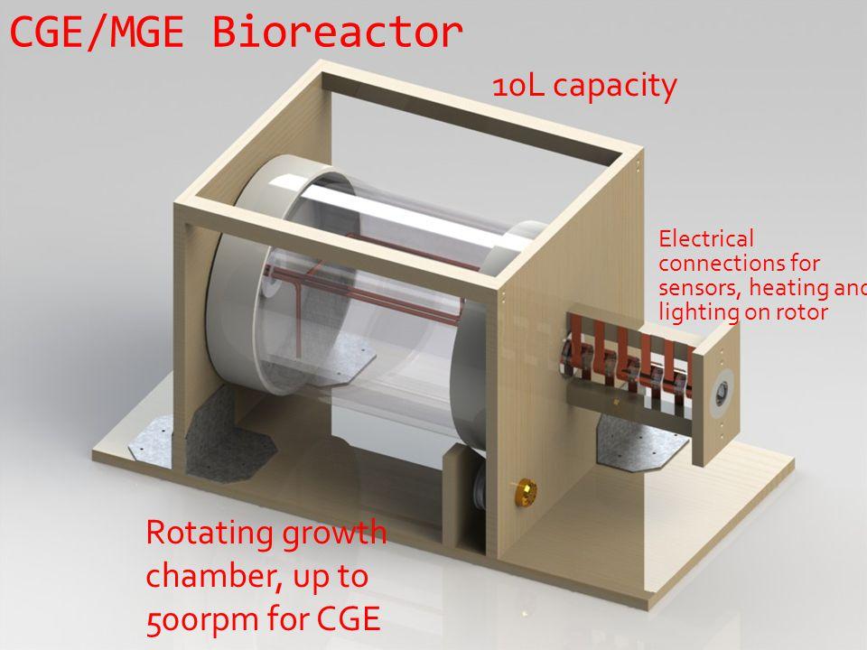 CGE/MGE Bioreactor 10L capacity