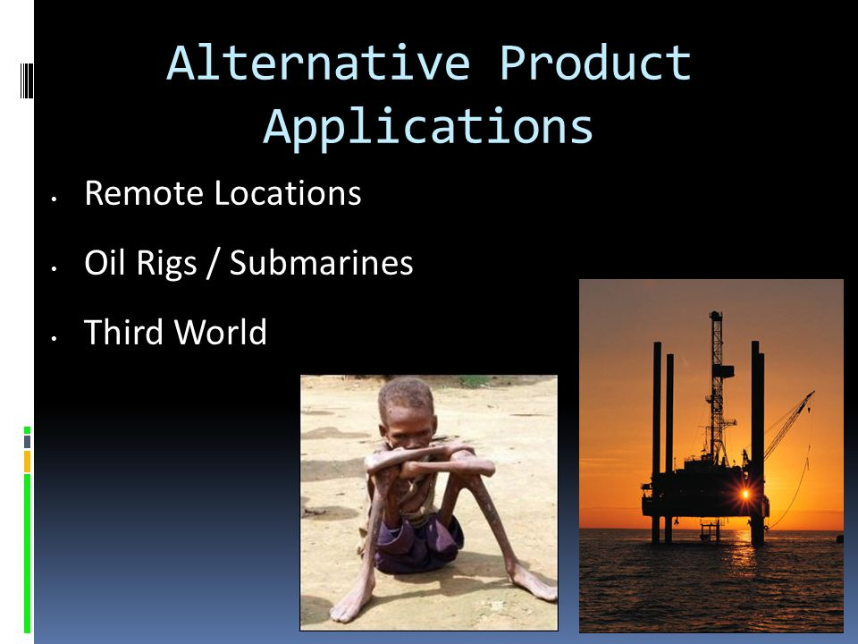 Alternative Product Applications
