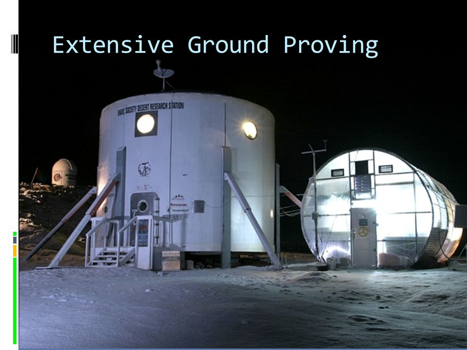 Extensive Ground Proving