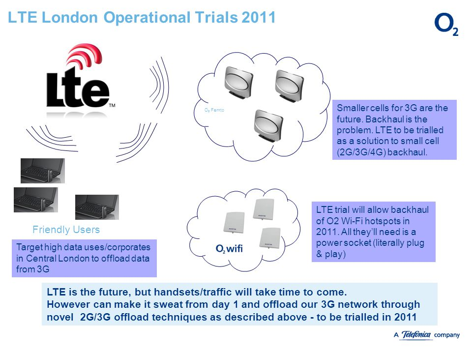 LTE London Operational Trials 2011