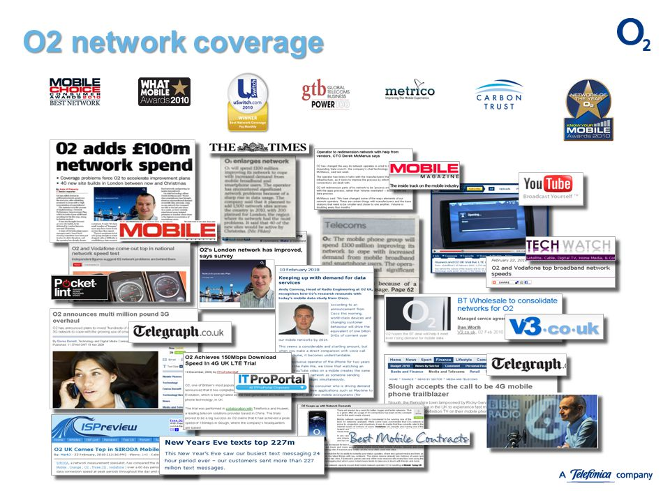 O2 network coverage The same comments as the previous slide.