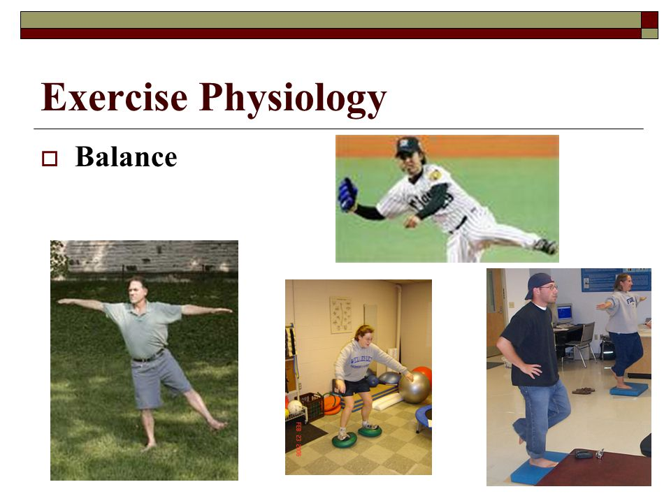 Exercise Physiology Balance