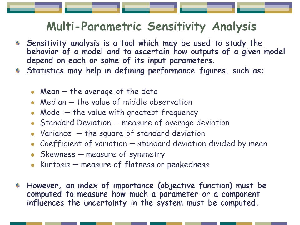 Multi-Parametric Sensitivity Analysis