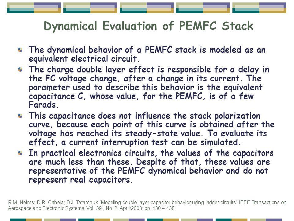 Dynamical Evaluation of PEMFC Stack