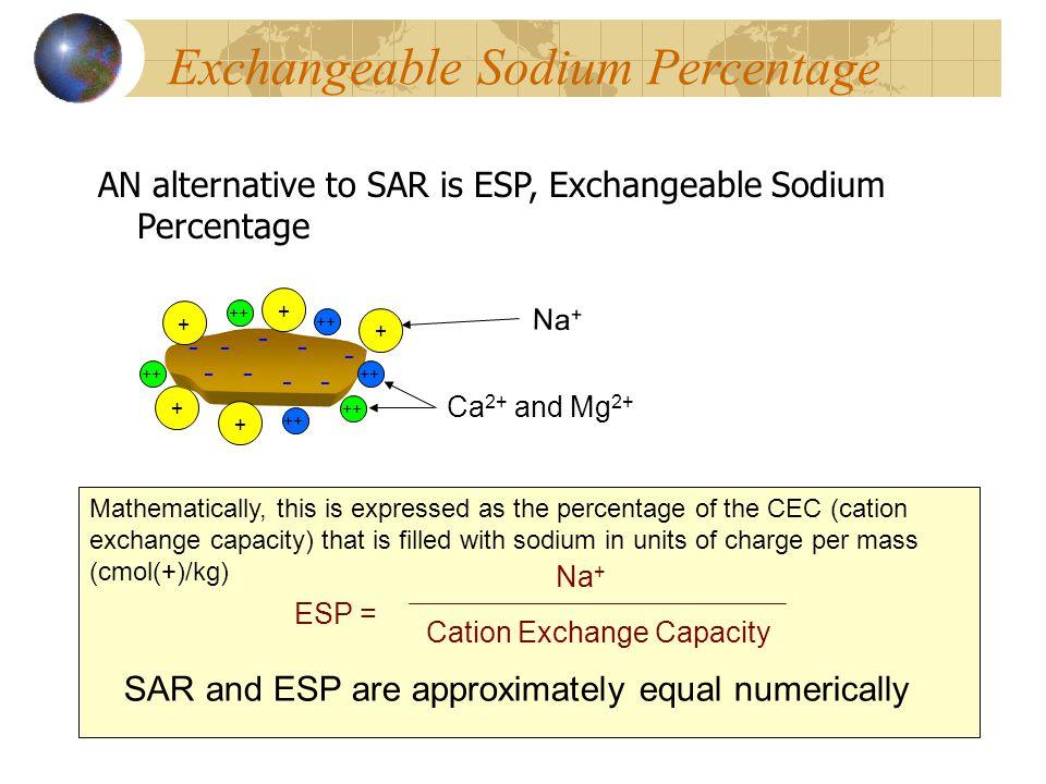 Exchangeable Sodium Percentage