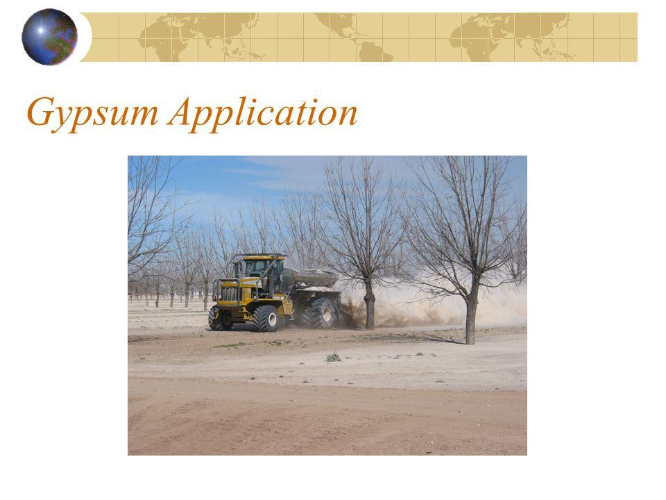 Gypsum Application