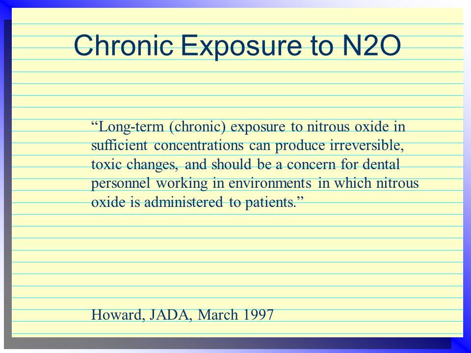 Chronic Exposure to N2O
