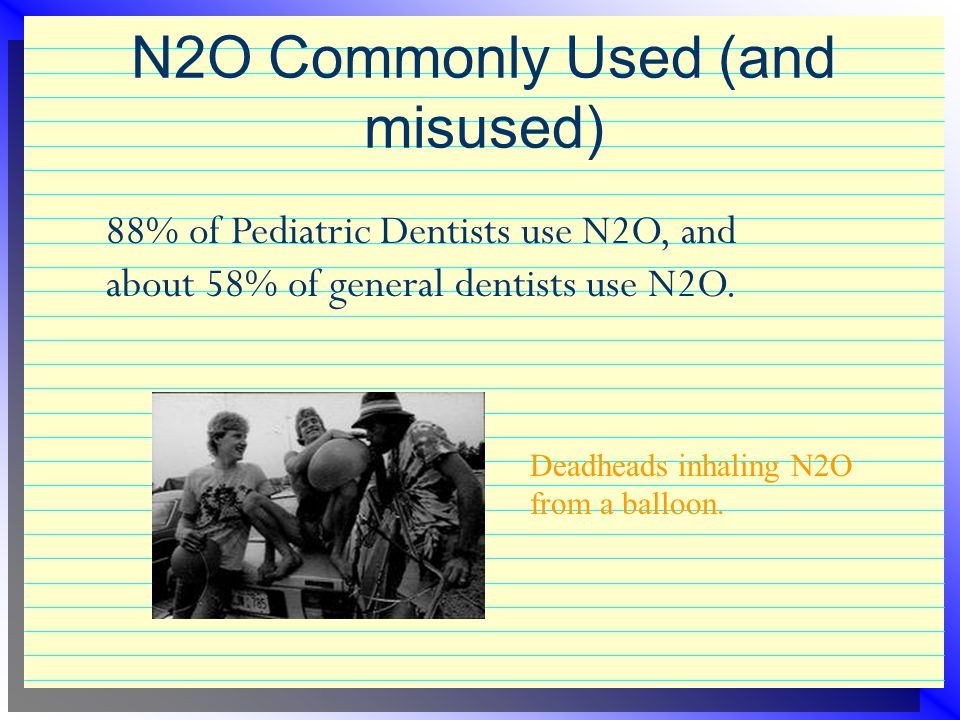 N2O Commonly Used (and misused)