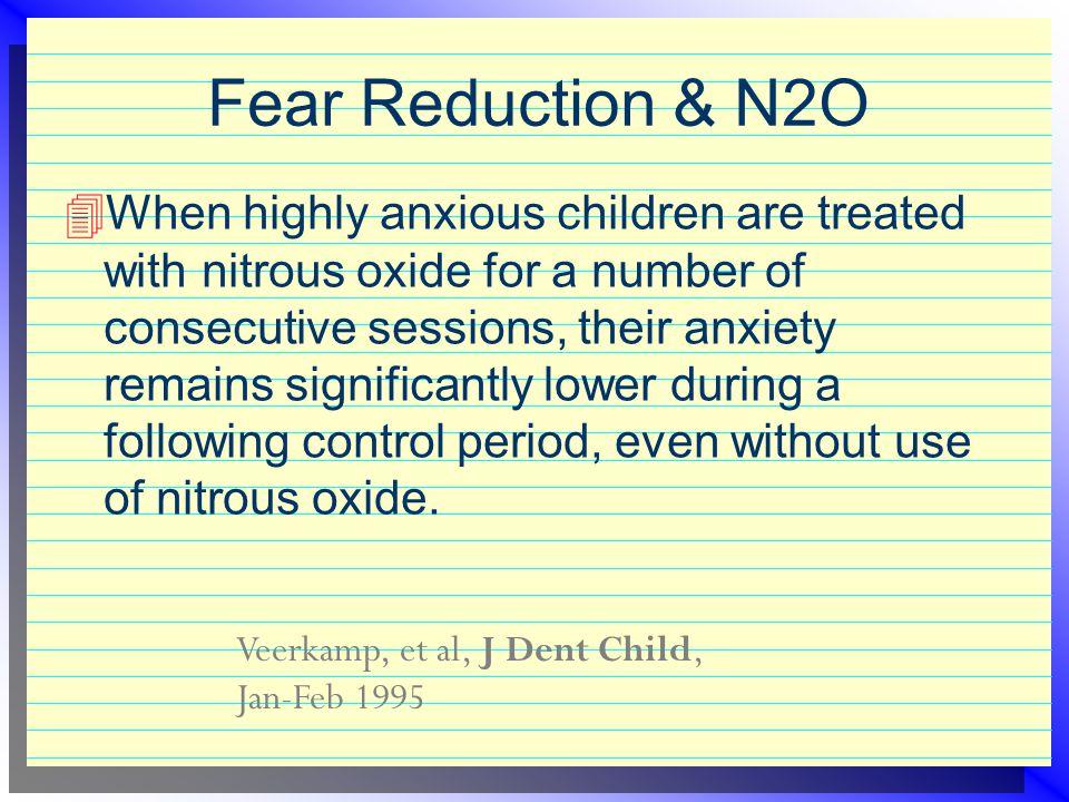 Fear Reduction & N2O