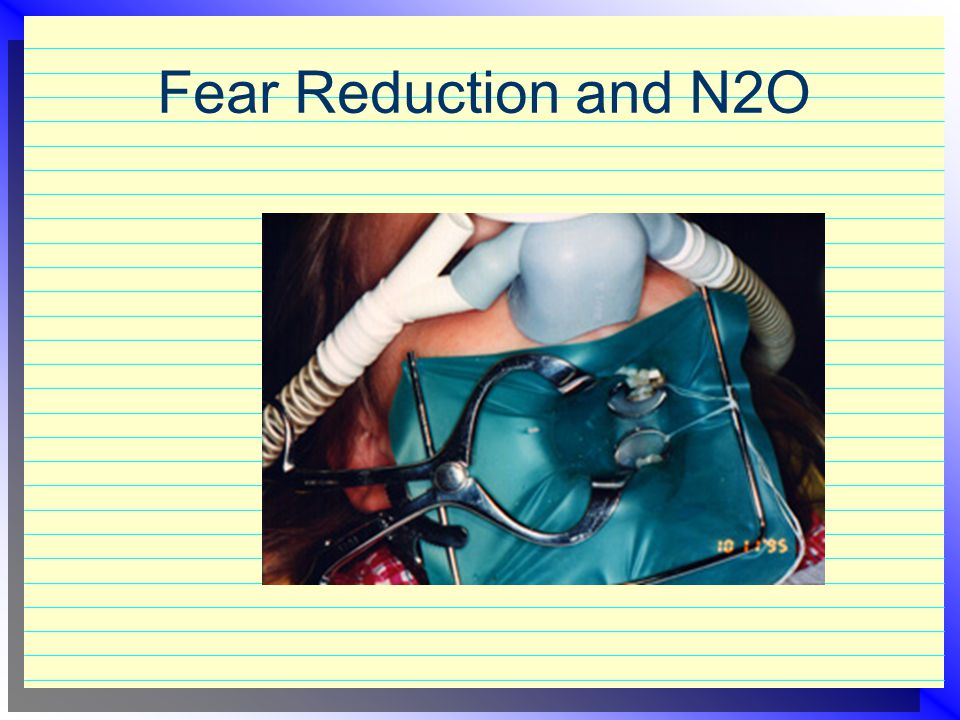 Fear Reduction and N2O