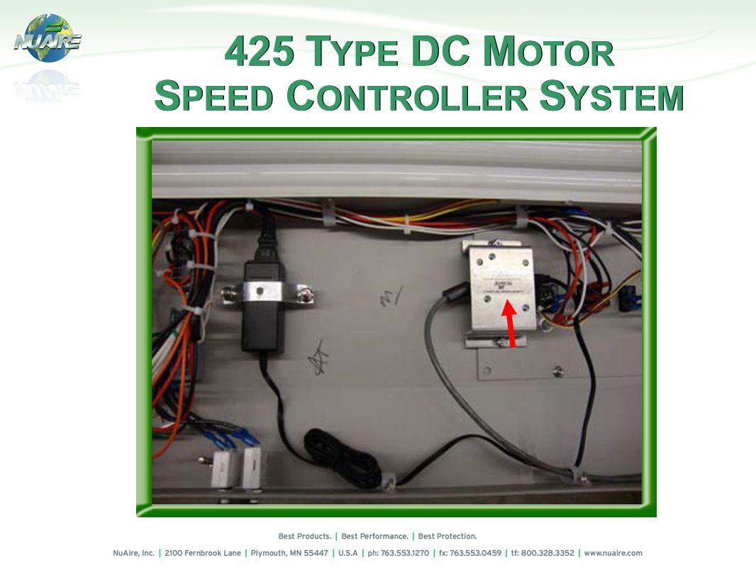 425 TYPE DC MOTOR SPEED CONTROLLER SYSTEM