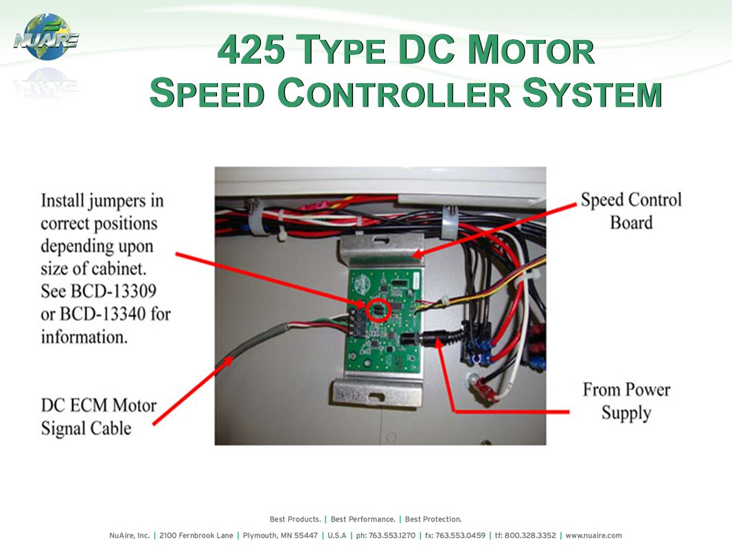 Use and service of dc ecm motors miscellaneous service for Types of dc motor