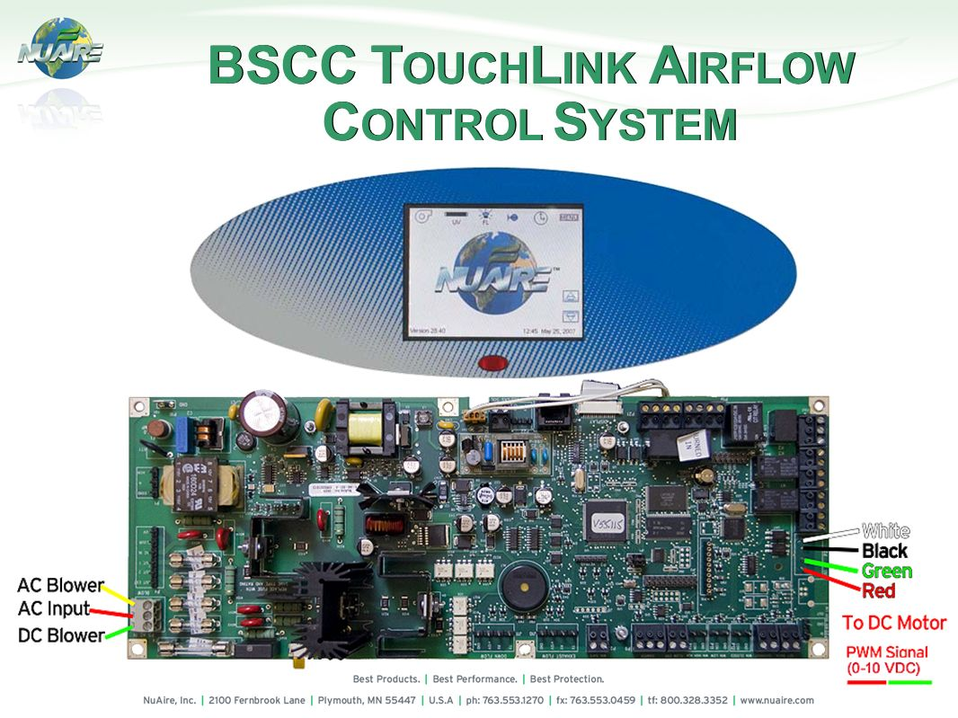 BSCC TOUCHLINK AIRFLOW CONTROL SYSTEM