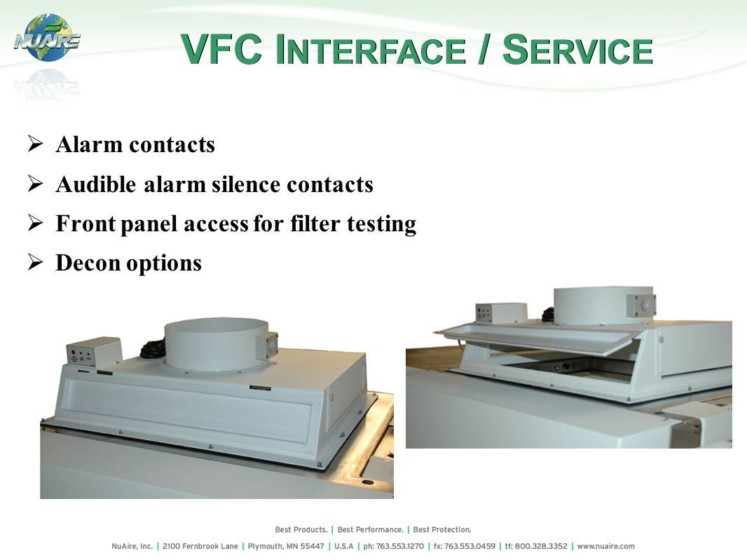 VFC INTERFACE / SERVICE