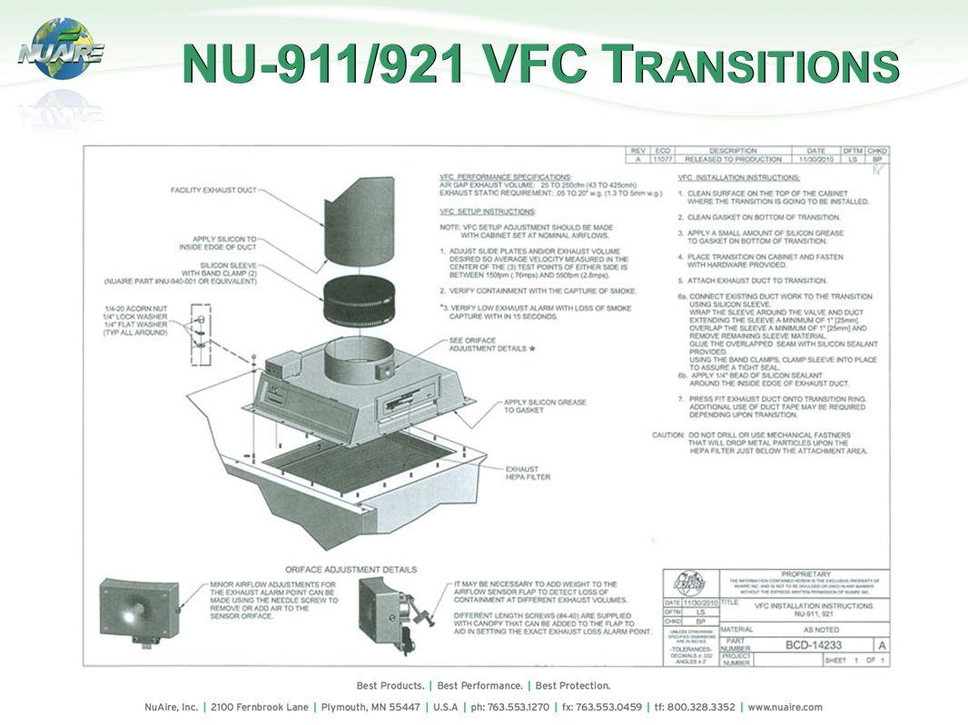 NU-911/921 VFC TRANSITIONS