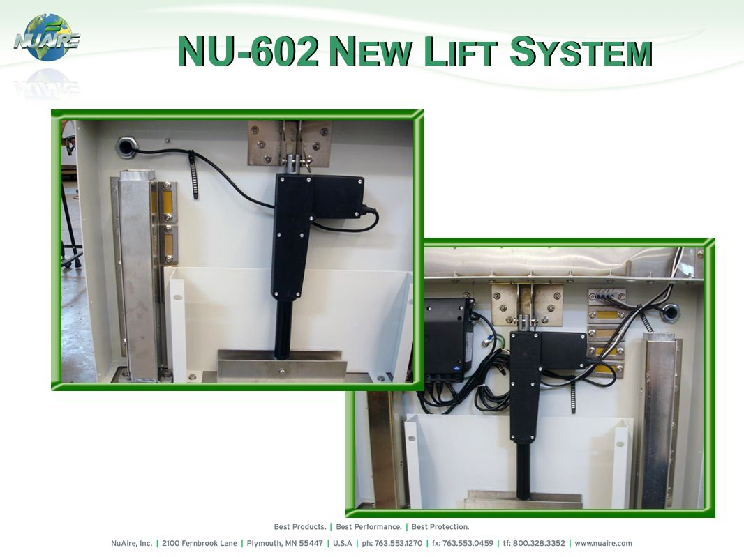 NU-602 NEW LIFT SYSTEM