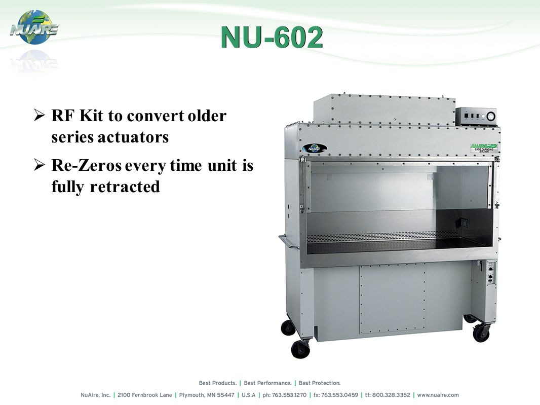 NU-602 RF Kit to convert older series actuators