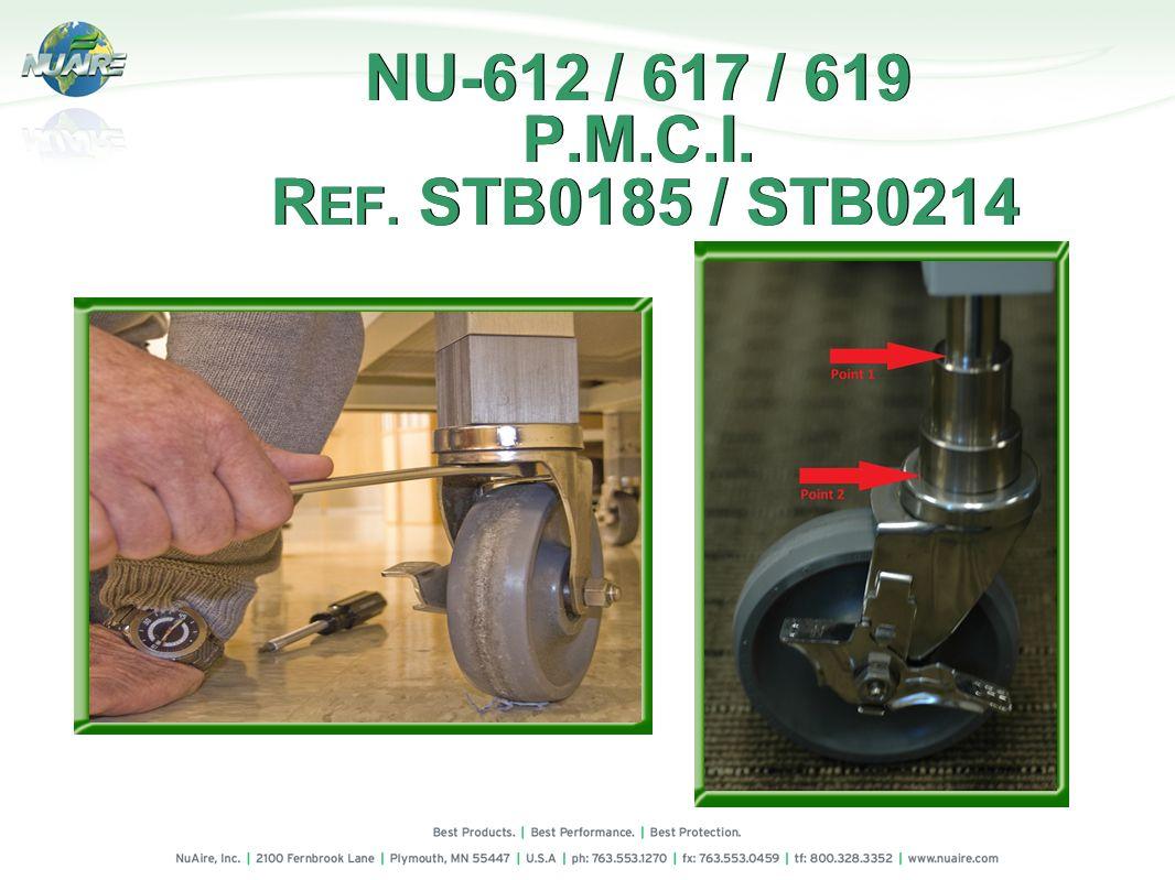 NU-612 / 617 / 619 P.M.C.I. REF. STB0185 / STB0214