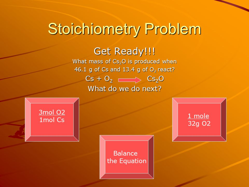 Stoichiometry Problem