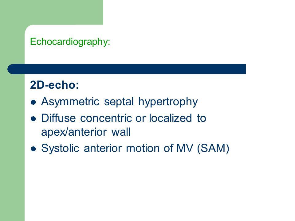 Asymmetric septal hypertrophy