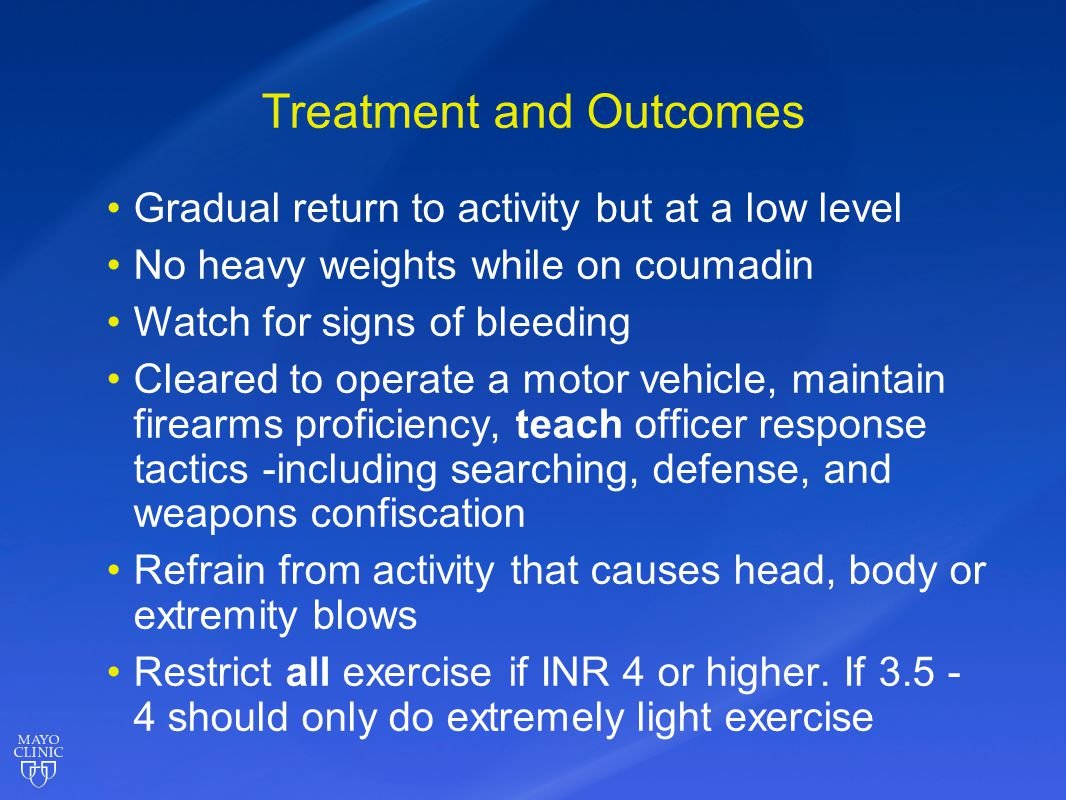 Treatment and Outcomes