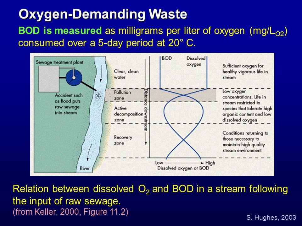 Oxygen-Demanding Waste