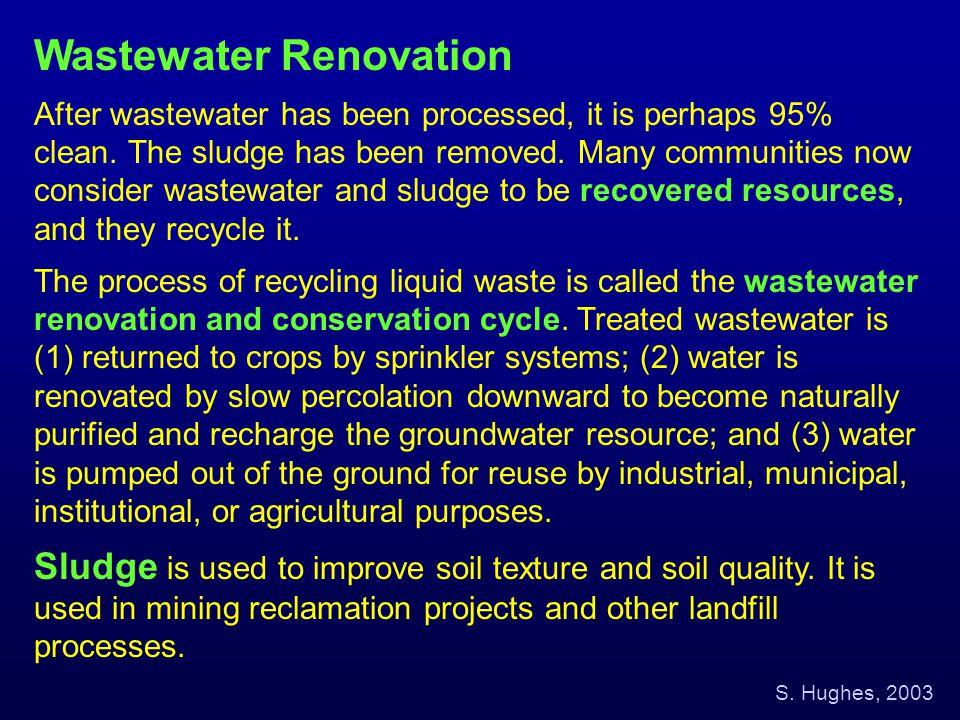 Wastewater Renovation