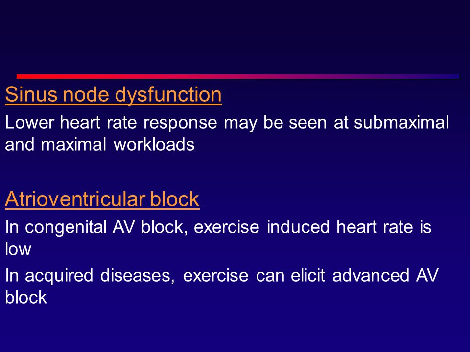 Sinus node dysfunction