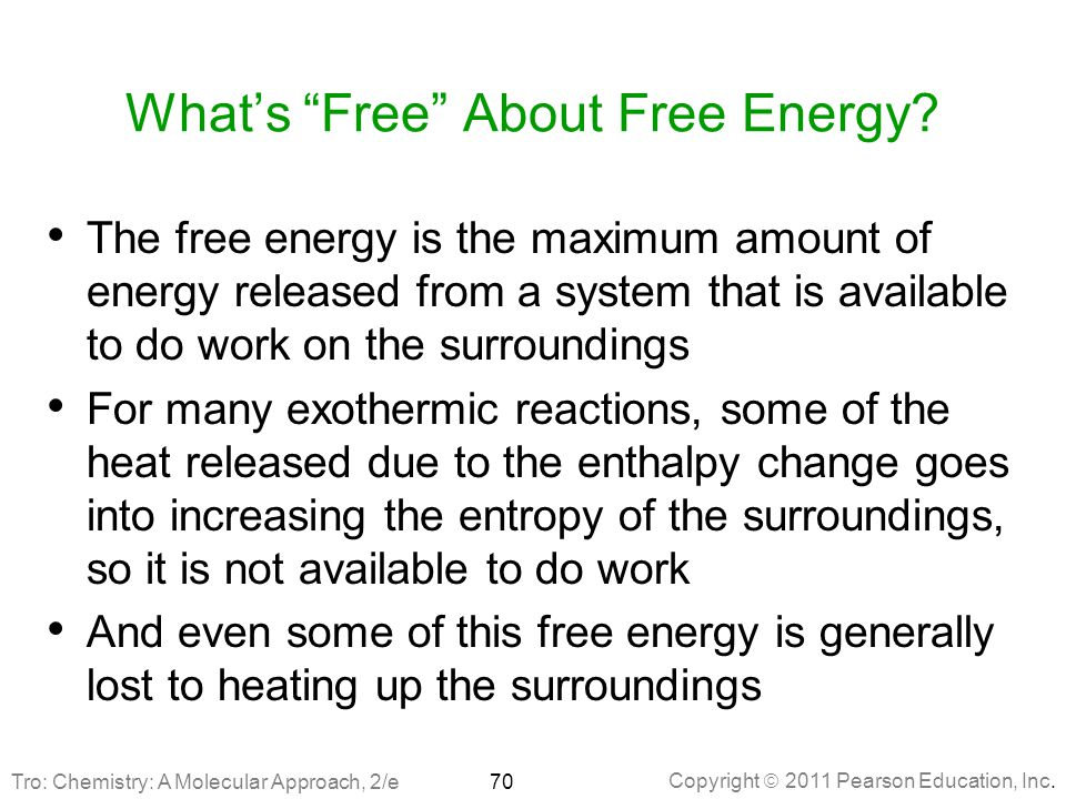 What's Free About Free Energy