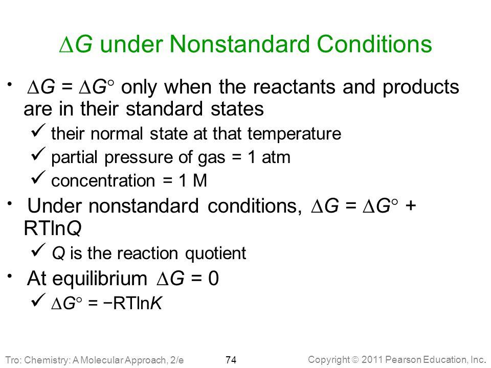 DG under Nonstandard Conditions